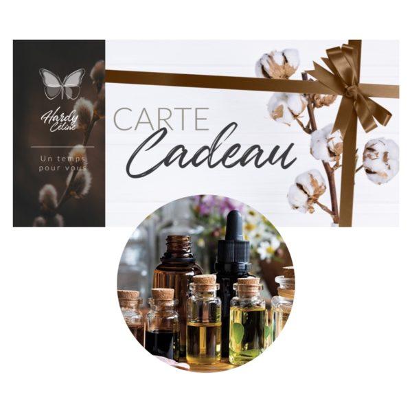 Carte cadeau atelier aromathérapie