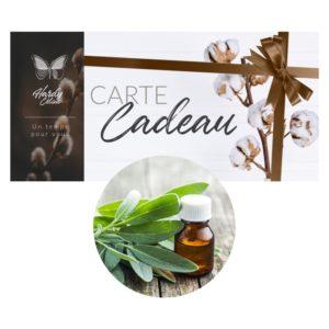 Carte cadeau séance aromathérapie Lille
